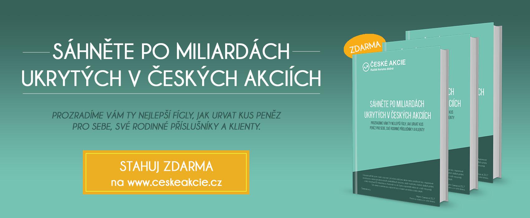 Příručka České akcie